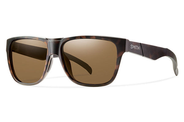 Smith - Lowdown Matte Tortoise Sunglasses, Polarized Brown Lenses