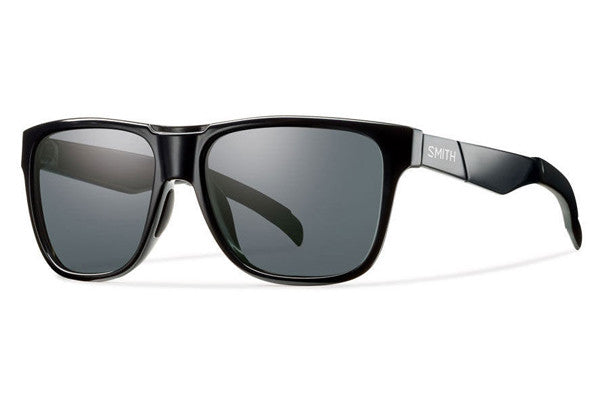 Smith - Lowdown Black Sunglasses, Polarized Gray Lenses