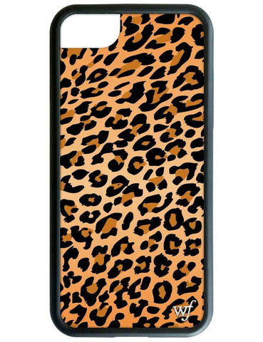 Wildflower - Leopard iPhone XS/X Case