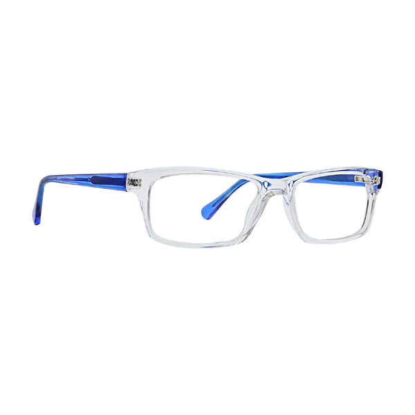 Life is Good - Alex 52mm Clear Crystal Eyeglasses / Demo Lenses
