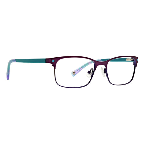 Life is Good - Chloe 46mm Purple Eyeglasses / Demo Lenses