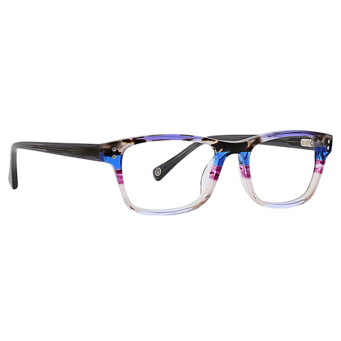 Life is Good - Ella 48mm Purple Eyeglasses / Demo Lenses