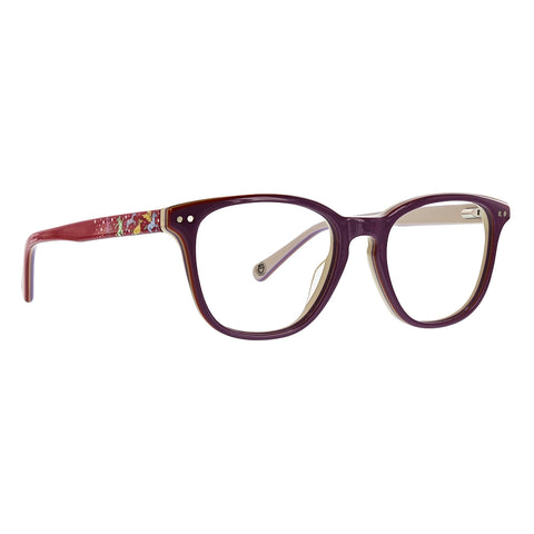 Life is Good - Hailey 46mm Purple Eyeglasses / Demo Lenses