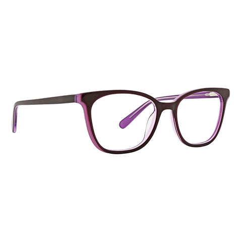 Life is Good - Kara 49mm Purple Eyeglasses / Demo Lenses
