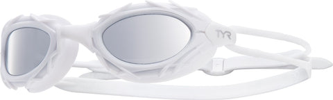 TYR - Nest Pro Nano White Swim Goggles / Clear Lenses