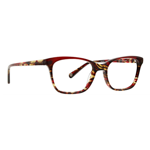 Life is Good - Sandra 52mm Red Eyeglasses / Demo Lenses