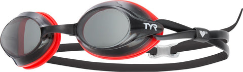 TYR - Velocity Smoke Swim Goggles / Clear Lenses