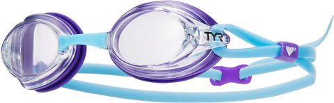 TYR - Velocity Blue Swim Goggles / Clear Lenses