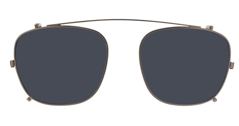 Life is Good - Eddy 51mm Gunmetal Clip On Sunglasses / Gray Lenses
