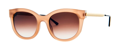 Thierry Lasry - Lively 56mm  Matte Light Brown Sunglasses / Brown Gradient Lenses