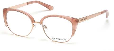 Marciano - GM0334 Shiny Pink Eyeglasses / Demo Lenses