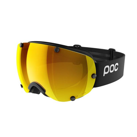 POC - Lobes Clarity Uranium Black Snow Goggles / Spektris Orange Lenses