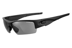 Tifosi - Lore Tactical Matte Black Sunglasses, Clear / HC Red / Smoke Lenses