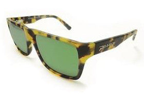 Peppers - Kahuna Tokyo Tort Sunglasses, Green Mirror Lenses