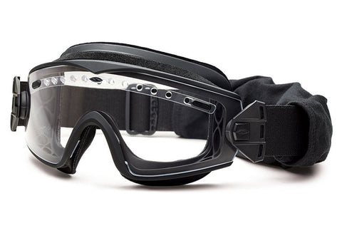 Smith - Lopro Regulator Black Tactical Goggles, Clear Mil-Spec Field Kit Lenses