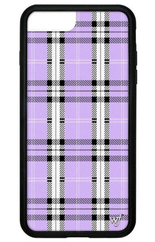 Wildflower - Lavender Plaid iPhone 6/7/8 Plus Phone Case