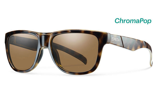 Smith - Lowdown Slim Tortoise Sunglasses, ChromaPop Polarized Brown Lenses