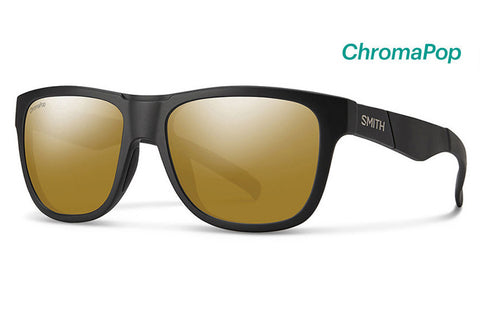 Smith - Lowdown Slim David Luiz Sunglasses, ChromaPop Polarized Bronze Mirror Lenses