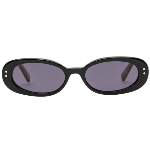 Le Specs - The Outlaw 51mm Black Sunglasses / Smoke Mono Lenses
