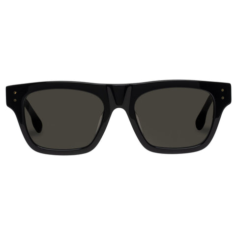 Le Specs - Motif 52mm Black Sunglasses / Smoke Mono Lenses