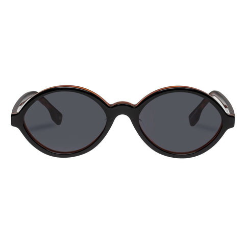 Le Specs - Impromtus 54mm Black Honey Tort Sunglasses / Khaki Mono Lenses