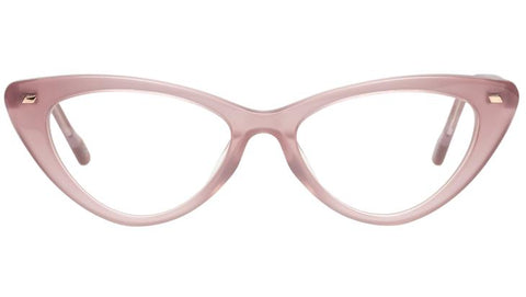 Le Specs - Heart On Rose Eyeglasses / Demo Lenses