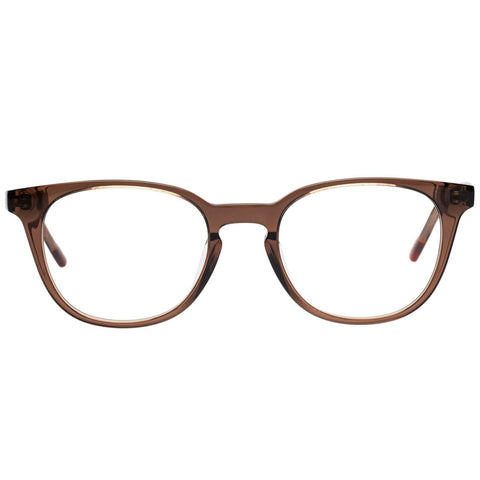 Le Specs - Believer 50mm Mocha Eyeglasses / Demo Lenses