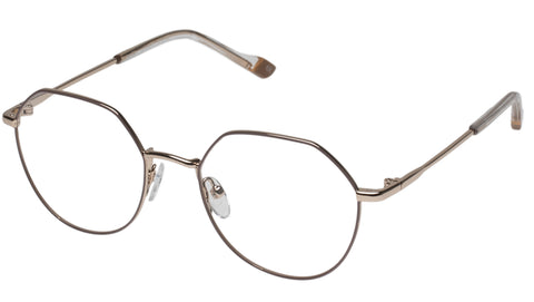 Le Specs - Fanatic Taupe Eyeglasses / Demo Lenses