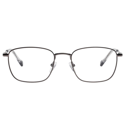 Le Specs - Inception 53mm Matte Gunmetal Eyeglasses / Demo Lenses