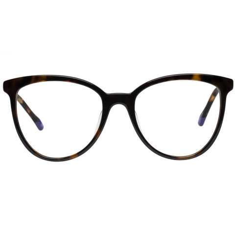 Le Specs - Piece Of Pizzazz 53mm Dark Tort Eyeglasses / Demo Lenses