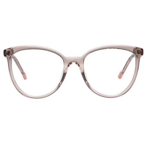 Le Specs - Piece Of Pizzazz 53mm Rosewater Eyeglasses / Demo Lenses