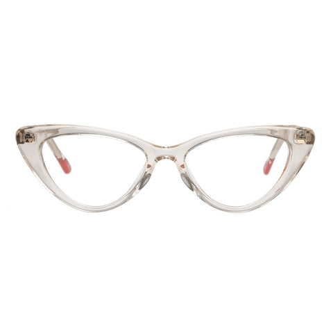 Le Specs - Heart On 50mm Sand Eyeglasses / Demo Lenses