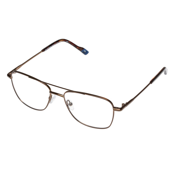 Le Specs - Wilderness Antique Bronze Eyeglasses / Demo Lenses