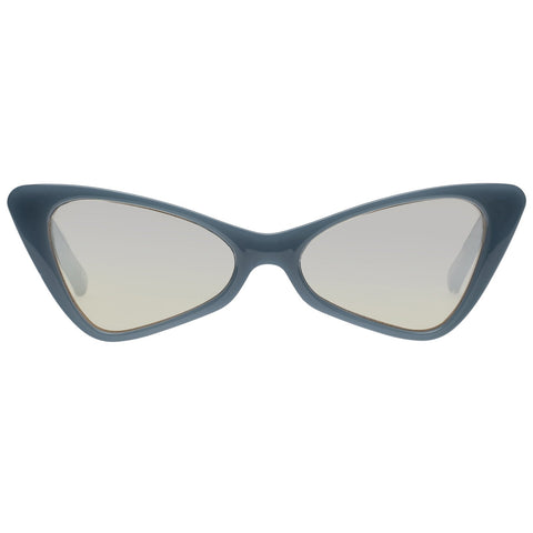 Le Specs - On The Hunt 54mm Pacific Navy Sunglasses / Champagne Flash mirror Lenses