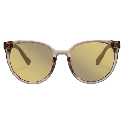Le Specs - Armada 54mm Stone Sunglasses / Dark Gold Mirror Lenses