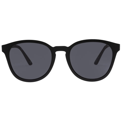 Le Specs - Renegade 51mm Matte Black Sunglasses / Smoke Mono Lenses