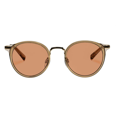 Le Specs - Tornado R 48mm Tan Sunglasses / Cinnamon Tint Lenses