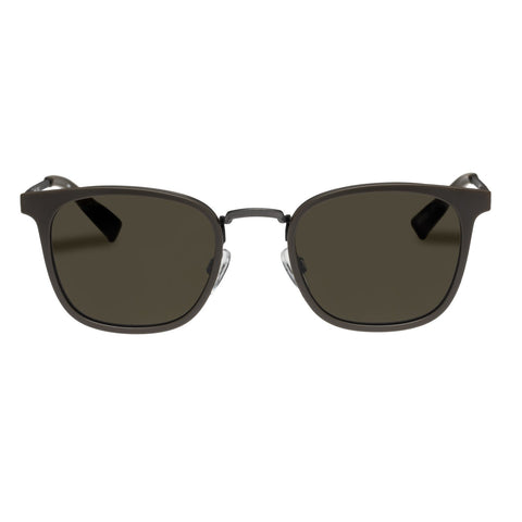 Le Specs - Racketeer Dark Forest Sunglasses / Khaki Mono Lenses