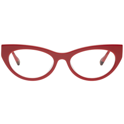 Le Specs - Bunny Hop 51mm Red Hot Eyeglasses / Demo Lenses