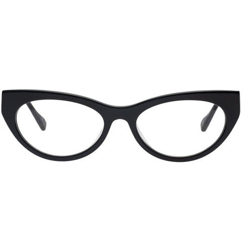 Le Specs - Bunny Hop 51mm Black Eyeglasses / Demo Lenses