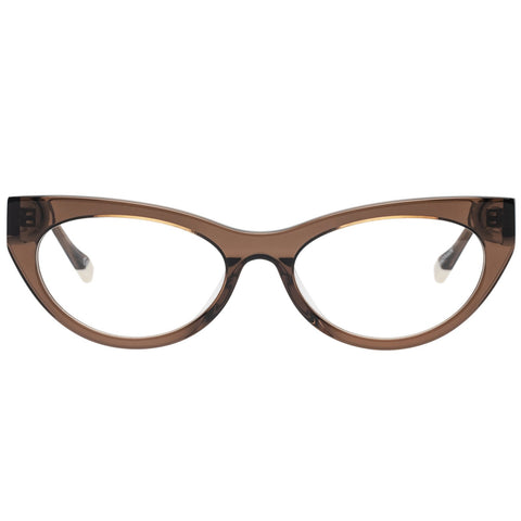 Le Specs - Bunny Hop 51mm Mocha Eyeglasses / Demo Lenses