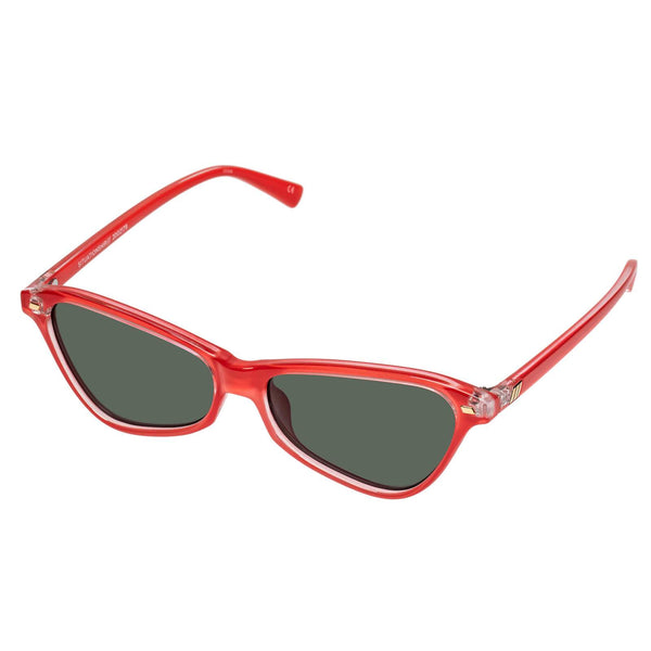 Le Specs - Situationship Red Hot Sunglasses / Khaki Mono Lenses