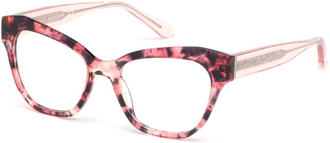 Marciano - GM0339 Red Havana Eyeglasses / Demo Lenses