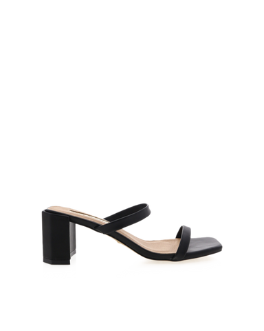 BiLLiNi - Women's Luna Black Block Heels