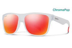 Smith - Lowdown XL Matte Crystal Red Sunglasses, ChromaPop Sun Red Mirror Lenses