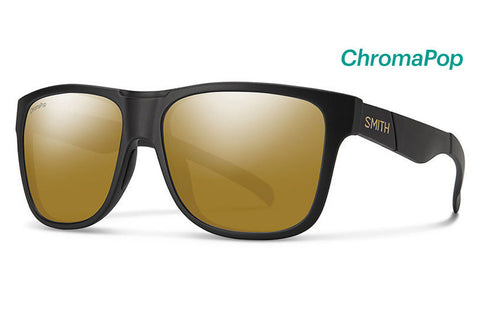 Smith - Lowdown XL David Luiz Sunglasses, ChromaPop Polarized Bronze Mirror Lenses