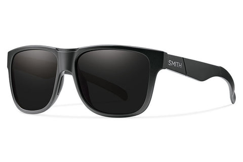 Smith - Lowdown XL Impossibly Black Sunglasses, Blackout Lenses