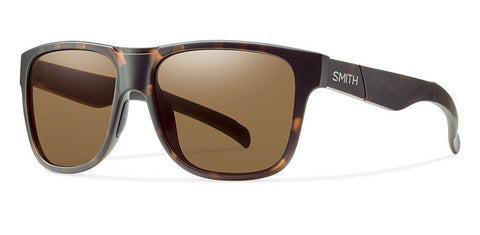 Smith - Lowdown XL Matte Tortoise Sunglasses, Brown Polarized Lenses