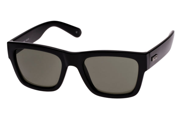 Le Specs Bowie Black Sunglasses