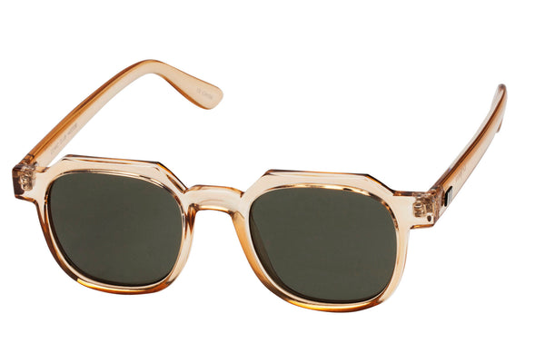 Le Specs Comic Club Crystal Blonde Sunglasses